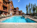 Blue Sky Common Pool Area Breckenridge Lodging Vacation Rentals