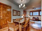 Blue Sky Dining Area Breckenridge Lodging Vacation Rentals
