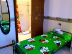 camera letti singoli con bagno in camera