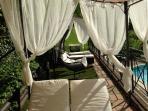 Villa Nuba,salt water pool,jacuzzi,playground,parking,barbecue,herbs garden