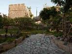 view  from  veranta  //castell
