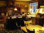 Kitchen where breakfasts are prepared