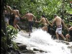 Climb the Falls at Dunn's River with a friend or join a group