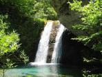 Waterfalls On Mount Olympus