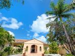 Little Jazz Bird, 5BR beach front vacation rental villa on Baie Rouge, Terres Basses, St Martin ******* 8555
