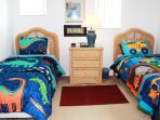 2nd floor Bedroom # 1 two twins new linens