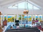 Enjoy beautiful ocean views in one spacious living pavilion