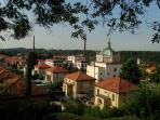 il villaggio di Crespi, panorama