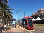 Tram to Adelaide CBD