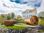 Hattvika Lodge, Summer 2015. Foto: Heidi Hallseth