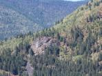 Pulpit Rock on Elephant Mtn is a popular, short hike with spectacular views of Nelson