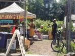 Visit our local farmer's market