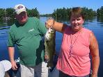 Cheryl with a beautiful bass.