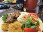 Typical Costa Rican Lunch