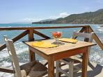Have Breakfast by the Sea Shore.