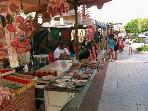 La Cala Market every Wednesday/Saturday from early morning, quality stalls with plenty of choice.