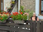 Un de nos gentils voisins : Nicolas, 89 ans, marcheur invétéré.