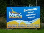 Kayak Les Remous, entre Hamoir et Xhignesse