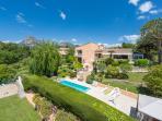 Villa Vence, garden, pool, football and petanque