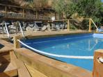 New pool and decking area to relax and enjoy the sun