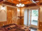 1st Floor Bedroom.. Gorgeous Wood Accents