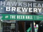 Hawkshead Brewery is situated in Mill Yard, Stavelely, a 10 minute walk away
