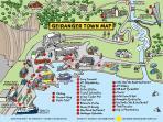Geiranger town map