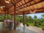 Guest villa terrace