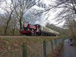Plym Valley Railway just 5 mins away by car