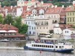 Prague Lesser Town view