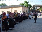 Filiel es uno de los pueblos más animados de la Maragatería y conserva sus bailes tradicionales.