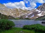 Mammoth Lakes in Spring