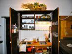 Schrankküche - kitchen cupboard