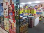 mini mart/ convinience store (ground floor)