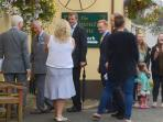 A Royal Visitor to the local Pub - The Falmouth Arms