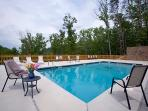 All our cabins come with the use of a pool April 1st to Oct 1st at Black Bear Ridge Resort