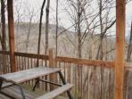 View off your deck