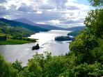 The Queens View at Pitlochry - Our favourite you will discover your own in this Majestic Land.