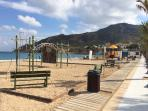 Children's play area at Playa Albir