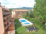 Vista de la urbanización desde la terraza