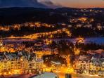 Tremblant Village at night