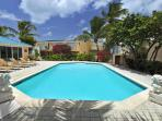 Coco Beach Club #5, 2BR beachfront condo rental, Simpson Bay, St Maarten