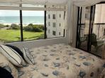 Master Bedroom, Q with Oceanviews and private bath
