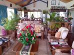 Villa Vanua reception/lounge area
