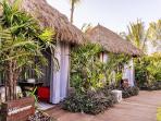 Spa huts