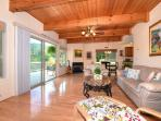Plenty of space with tall ceilings