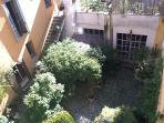 Affaccio su giardino privato silenzioso