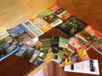Plenty of brochures of activities to do in the daintree national park