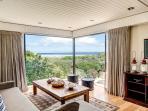 lounge with amazing sea views