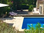 professionally maintained pool